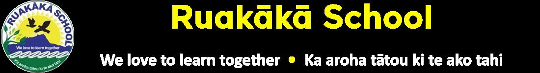 Ruakaka School Logo